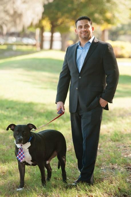 Bobby Baldor and Dog