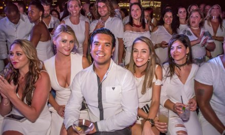 Guys With Ties White Party Fashion Show at 180 Skytop Lounge