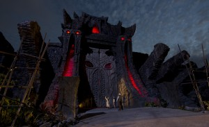 Skull Island Reign of Kong Great Wall Night time shot IOA