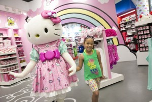 Hello Kitty Store Merch interior Talent Character Aven