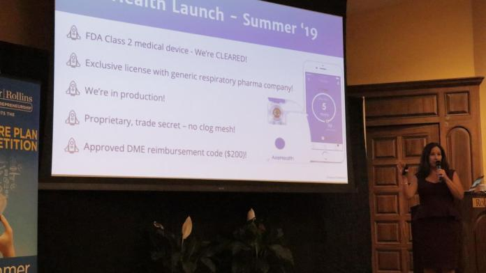 Health startup wins up to $50,000 in Rollins College