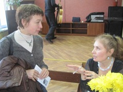 Вероа Зубарева и Виктория Фролова