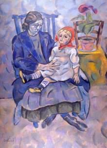 Владимир Баранов-Россин. Девушка с куклой
