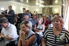 Пресс-конференция в клубе Гостевого дома «Ле-Ди»