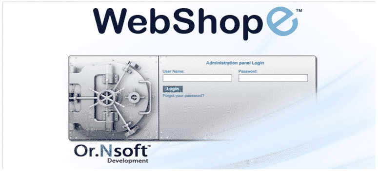 Products – WebShopE