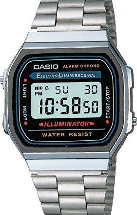 Casio A168WA-1YES Orologio Digitale da Polso Unisex: Prezzo e recensione