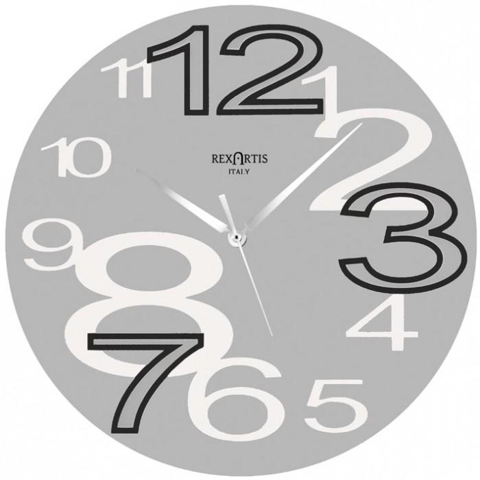 Consegna rapida e ritiro al. Wall Clock Young Silver Modern Design