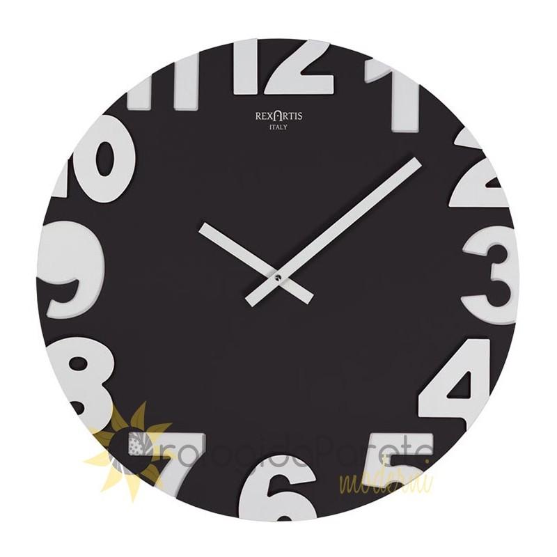 Un orologio moderno ed elegante è una decorazione ideale per soggiorno, camera dei bambini o camera da letto. Orologio Parete Moderno Legno Scolpito Laccato Orologidaparetemoderni