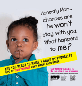 nyc teen preg ad - march 2013