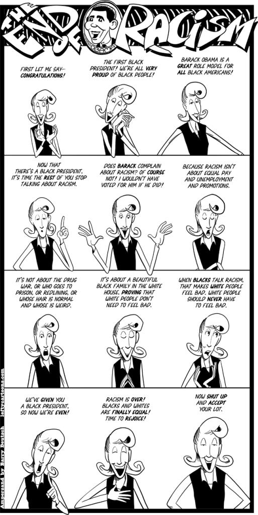 obama-end-of-racism - deutsch comics
