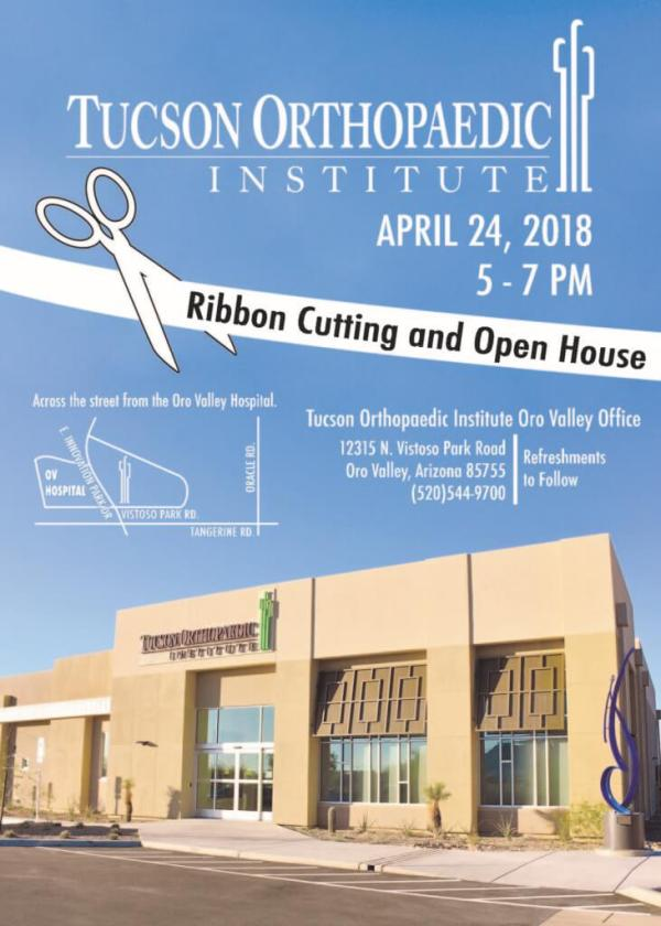 Ribbon cutting & open house at Tucson Orthopaedic ...