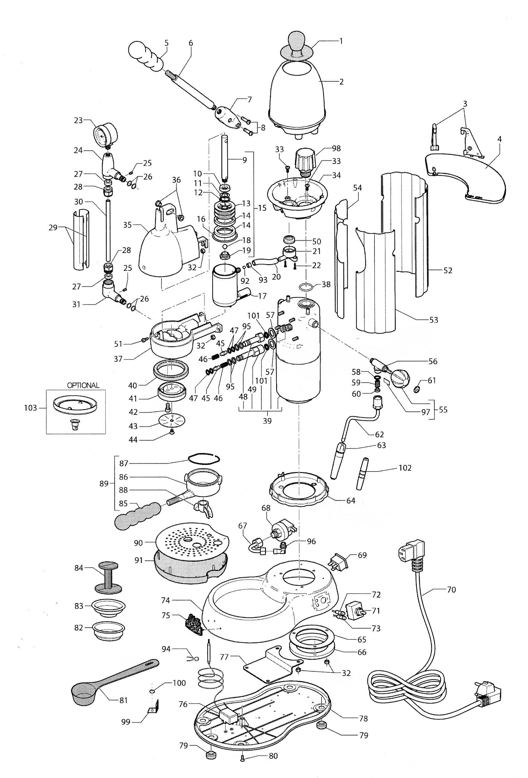 Espresso Machine Schematic