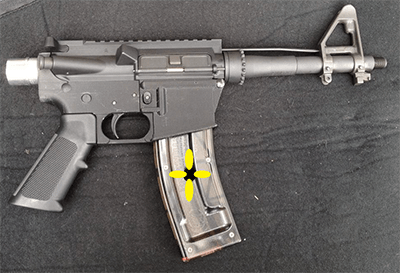 Assault Rifle With Flower