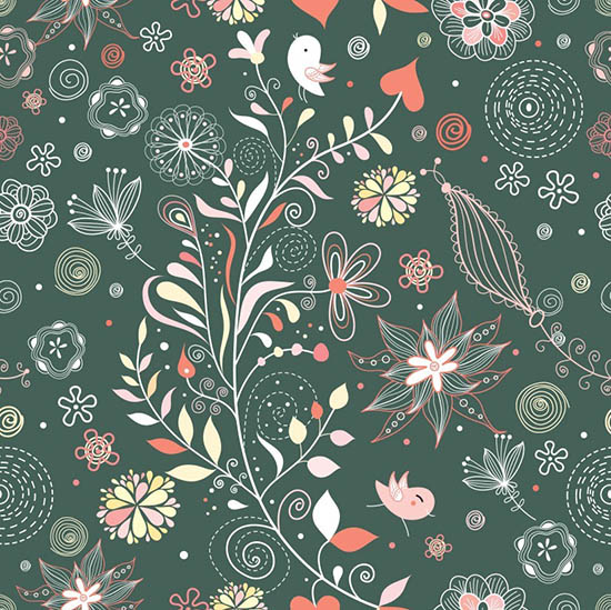 floral-vector23