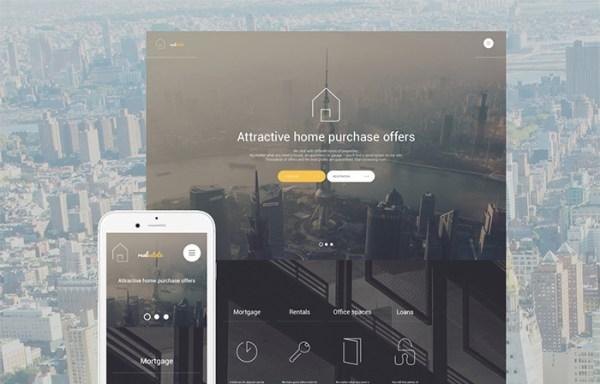 Real Estate Agent WordPress Theme
