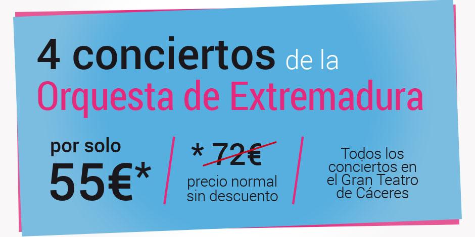 Oferta especial de entradas para Cáceres