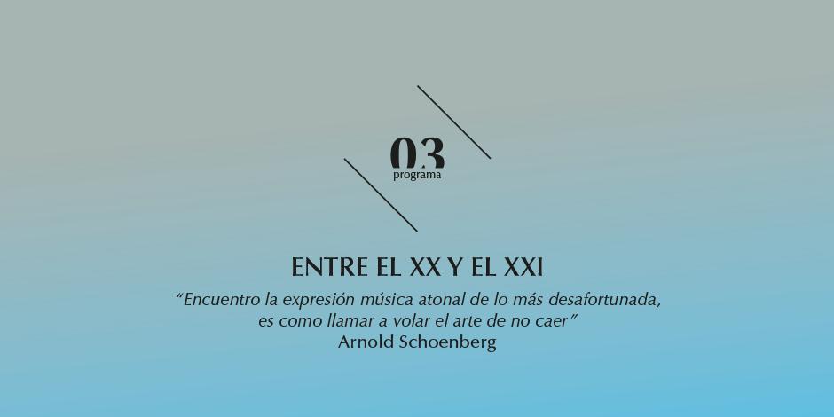 La OEX estrena Díptico, de González de la Rubia