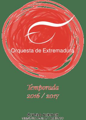 Temporada 2016-2017 de la Orquesta de Extremadura