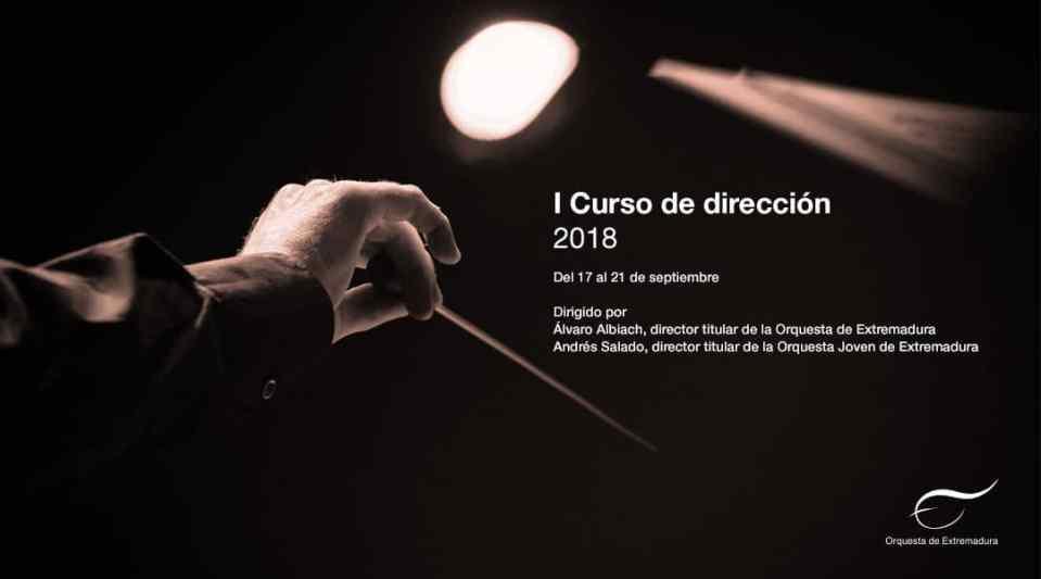 I Curso de Dirección de la Orquesta de Extremadura