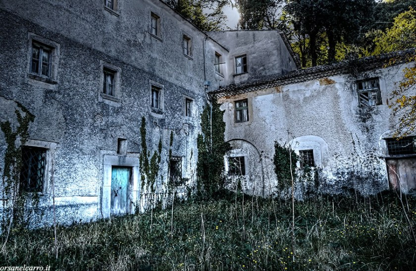 convento abbandonato dei monaci del diavolo