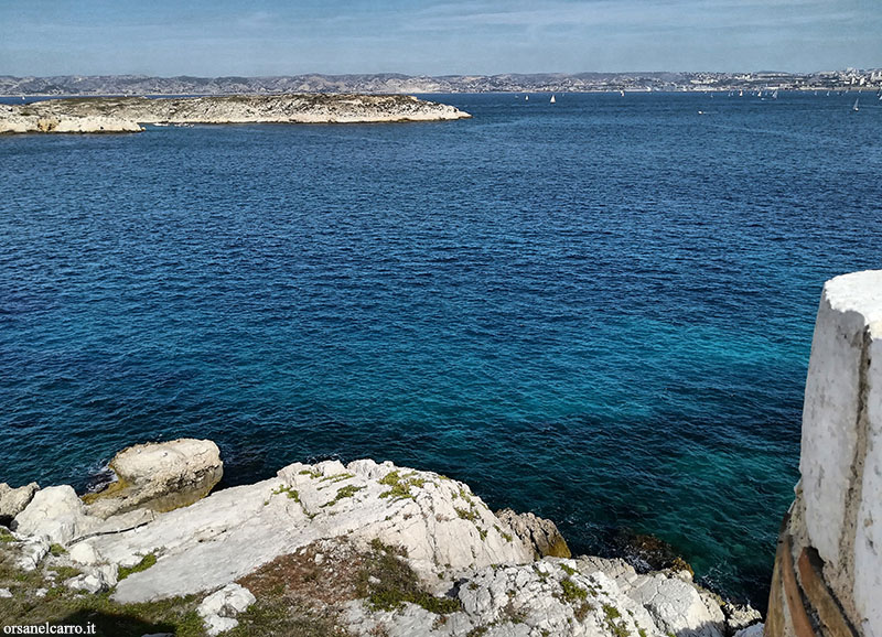 Isola d'If la prigione del Conte di Montecristo
