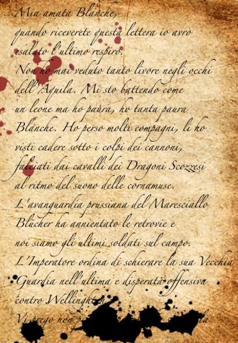 Lettera dal campo di battaglia di Waterloo