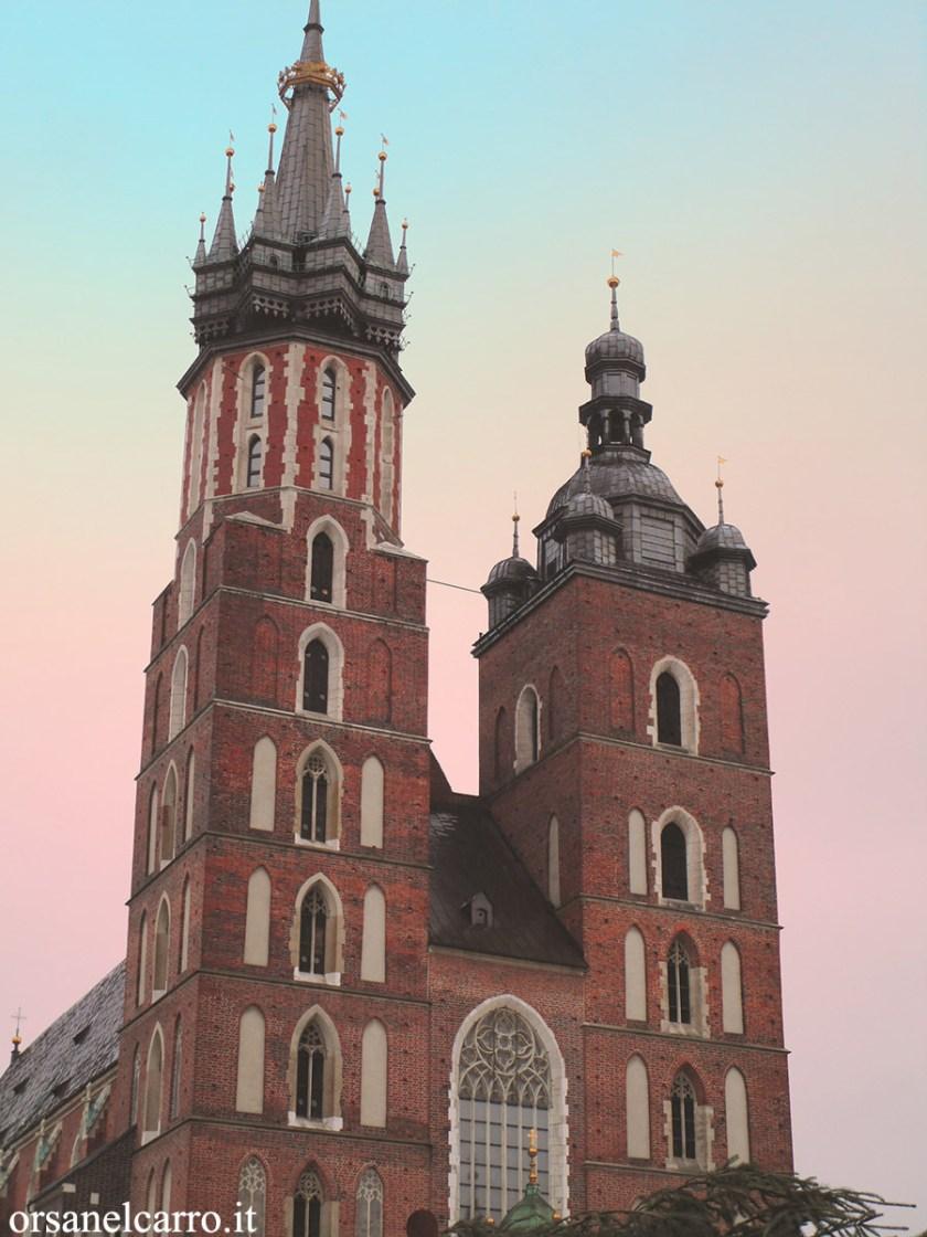 Cracovia Basilica Santa Maria