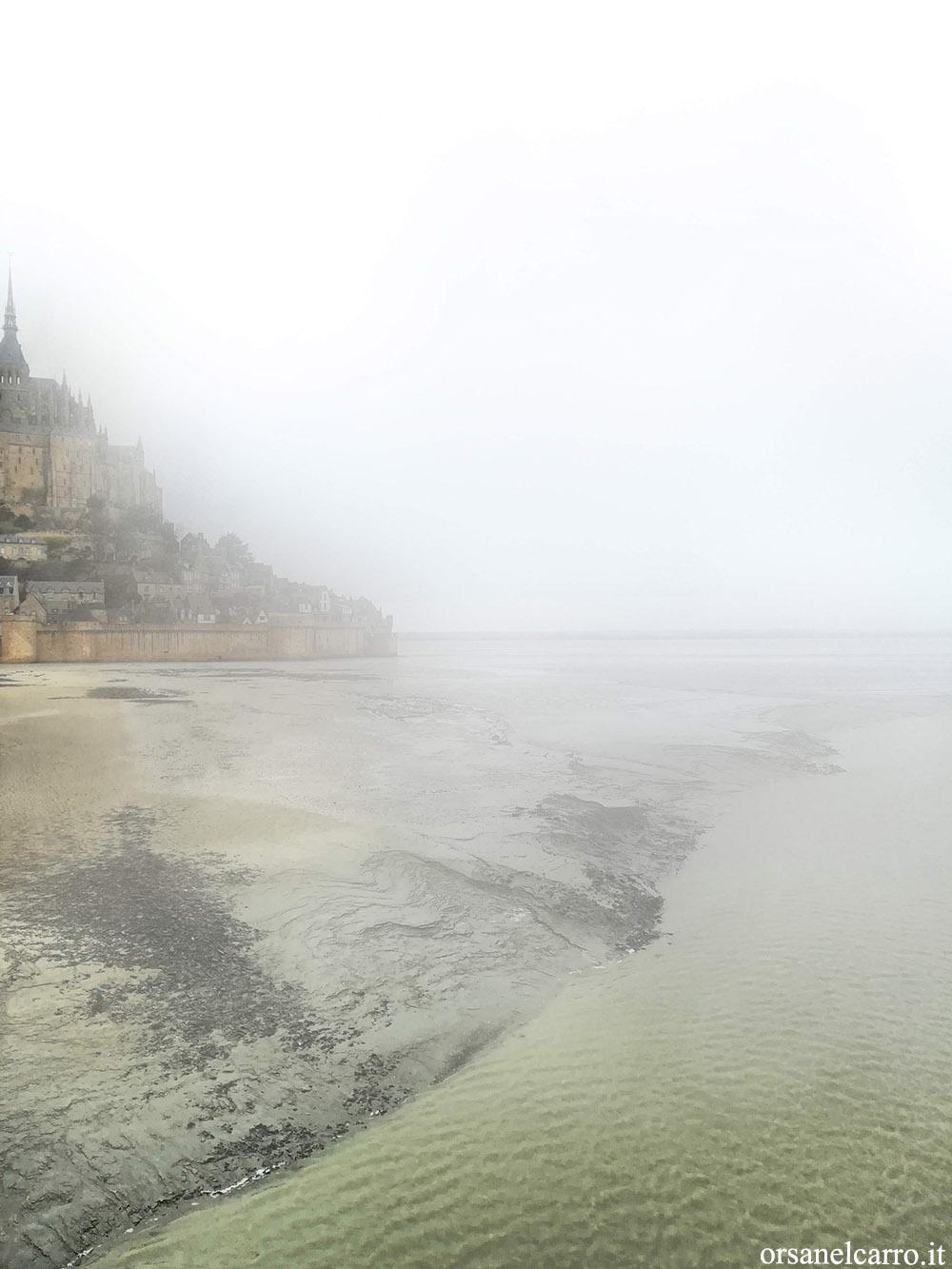 Foggy Mont Saint-Michel