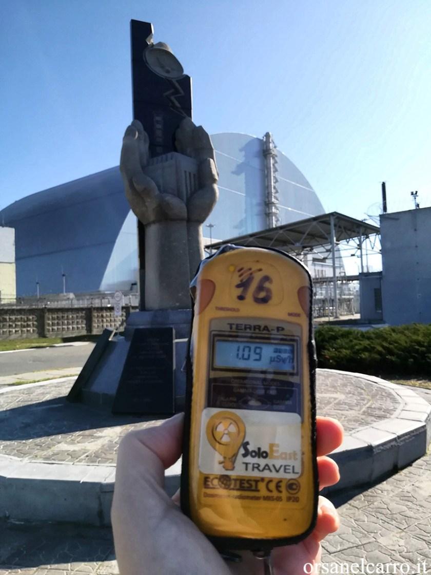 Chernobyl sarcofago reattore 4
