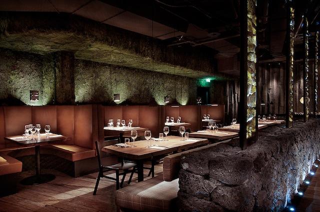 Unternehmen: Baltic Wood, Produkt: Old Painter?s Dream, Ausgezeichnet: 2014, Referenz: Restaurant Grillmarket in Reykjavik, Architekt: Leifur Welding