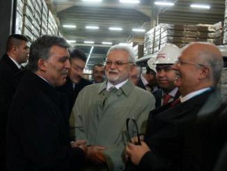 Abdullah Gul Kastamonu Entegre Tesislerini Gezdi