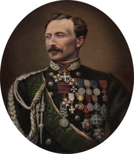 Il generale Giuseppe Govone
