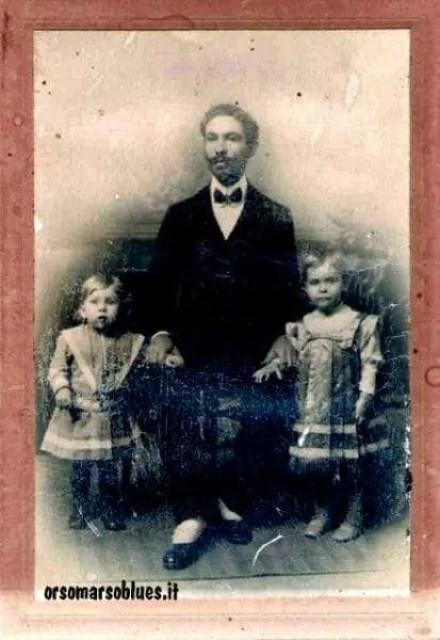 Luigi Ziccarelli con i figli del fratello Giuseppe a Caracas, primi del '900