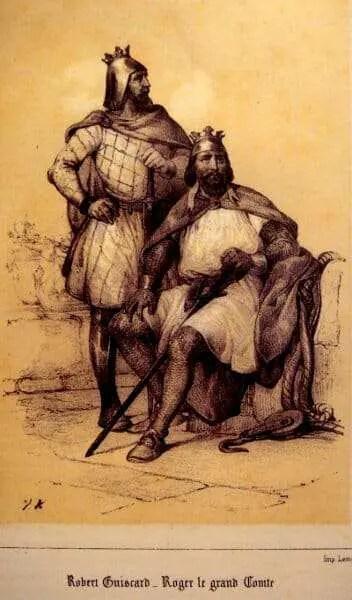 Roberto il Guiscardo e Ruggero I di Sicilia