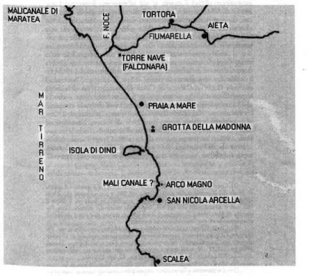 Cartina di B. Moliterni