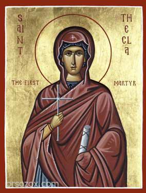 القديسة تكلا Thecla العجائبية