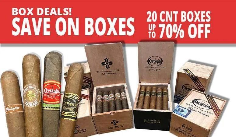 ortega box deals