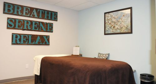 Orthopaedic and Rehabilitation Specialists of Central Illinois massage room