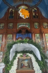 Рождественское богослужение в Покровском храме в Паттайе
