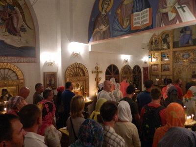 Рождественское богослужение в Вознесенском храме на о. Самуи