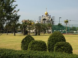 Building of the second church in Pattaya, in honor of the Protection of Mother of God