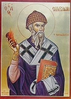 Ο Άγιος Σπυρίδων στην Α Οικουμενική Σύνοδο