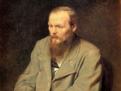 Lo scrittore russo Fedor Dostoevskij