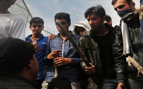 Χίος: Επεισόδια με λαθρομετανάστες, (Βίντεο)