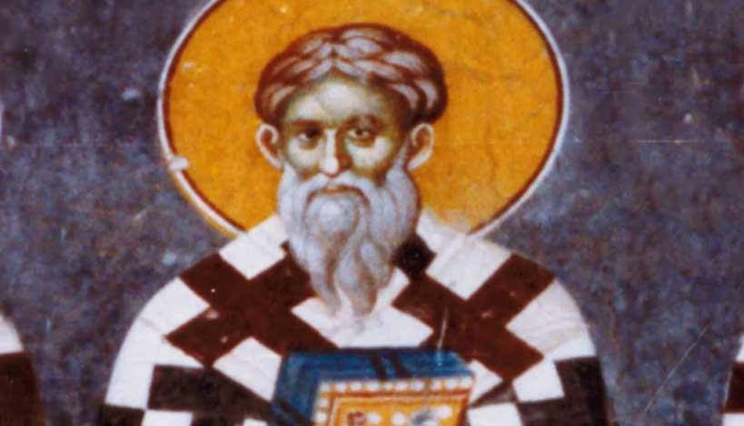 Άγιος Ιάκωβος ο Ομολογητής ο Επίσκοπος