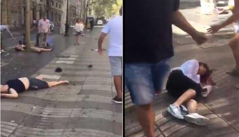 Βαρκελώνη: Τζιχαντιστές έριξαν φορτηγό πάνω σε πεζούς - ΒΙΝΤΕΟ ΣΟΚ - Σκληρές εικόνες