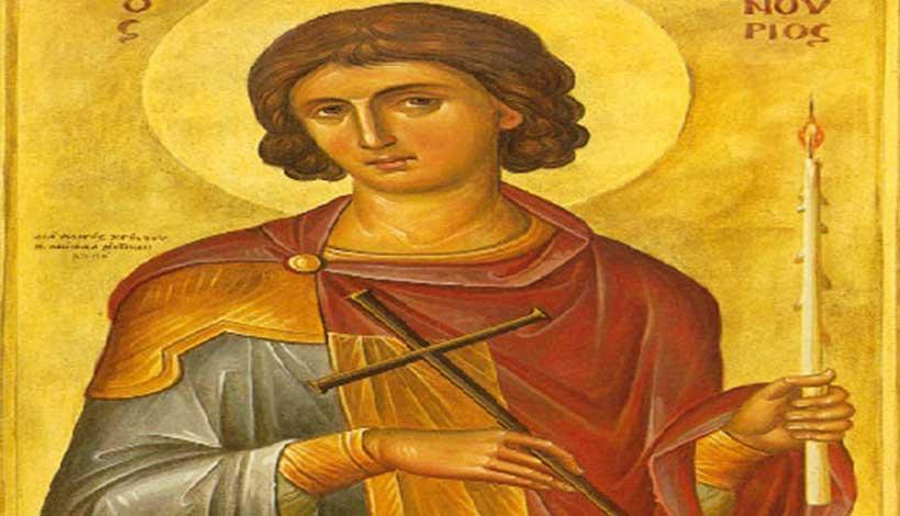 Ο Άγιος Φανούριος και το Συγκλονιστικό του θαύμα στη Ρόδο