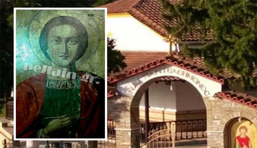 Δάκρυσε ο Άγιος Παντελεήμονας στην Πέλλα ανήμερα της εορτής του