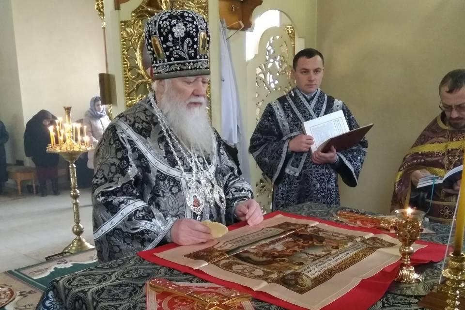 Митрополит Марк відвідав Свято-Симеонівський чоловічий монастир