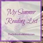 My Summer Reading List
